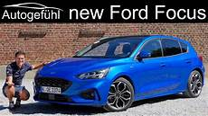 All New Ford Focus St Line Review 2019 Hatch Vs