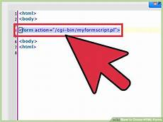 how to create html forms wikihow