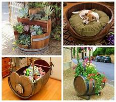 Upcycling Ideas Of Wooden Barrels Upcycle