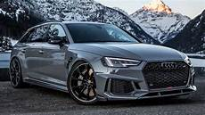 finally 2019 audi rs4 530hp that sounds awesome custom made exhaust by abt sportsline
