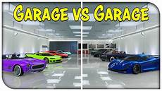 gta v autos aus garage gta 5 the garage vs garage showdown ep 8