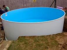 pool in erde einbauen pool einbauen ohne beton