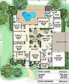 spanish house plans with inner courtyard house plan for ideas courtyard house plans courtyard