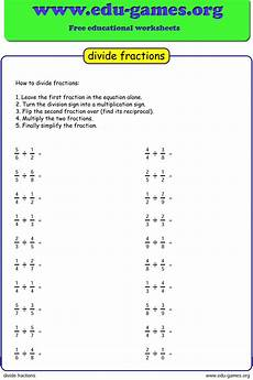 division fractions worksheets grade 5 6597 free dividing fraction worksheet printable pdf worksheets