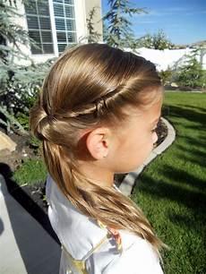 cute twistback flip hairstyles cute