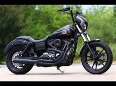 Harley Davidson Dyna - harley davidson dyna exhaust sound compilation
