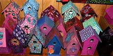 funky home decor funky home decor painted birdhouses 29 95