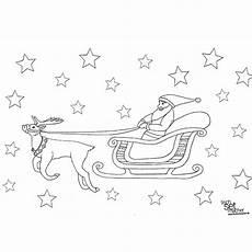 Ausmalbilder Weihnachten Basteln Ausmalbilder Weihnachtsmann Mit Schlitten Kinderbilder