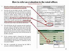 ppt referred reports da form 67 9 officer evaluation report reference ar 623 3 da pam 623 3