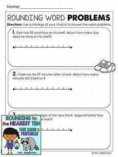 rounding word problems worksheets 3rd grade 11401 88 best math images on