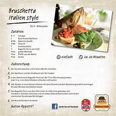 unser huth rezept f 252 r sie bruschetta italien style