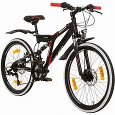 mountainbike fully 24 zoll mtb suspension galano