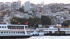 european side by side european side of the bosphorus strait istanbul turkey