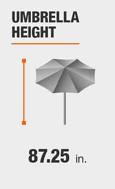 hton bay 7 5 ft steel market outdoor patio umbrella in ruby uts00203e ruby the home depot