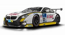 Bmw M6 Race Car by Rowe Racing Shows Bmw M6 Gt3 Race Car Carscoops