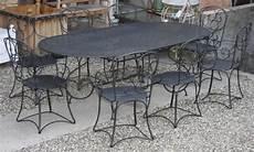 table jardin fer forgé table de jardin en fer forge