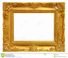 goldener bilderrahmen goldener bilderrahmen stockfoto bild von innen aufwendig