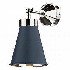 hyde single wall light polished chrome