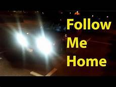 Follow Me Home Function Lights Luces Doovi