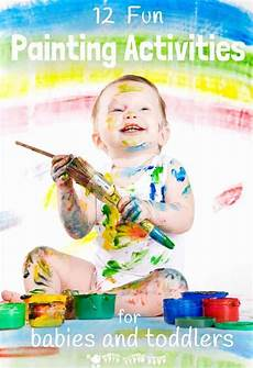 painting activities for babies kids craft room