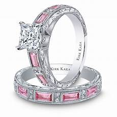 pearl unique pink diamond rings