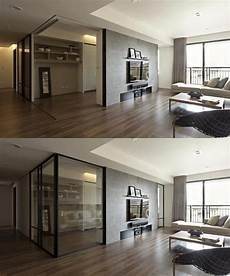 apartment with a retractable interior apartment with a retractable interior wall дизайн