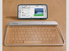 The Portable Bluetooth Keyboard Boasts Aluminum and