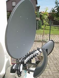 Empfang Astra Und Tuerksat Mit Einer Antenne