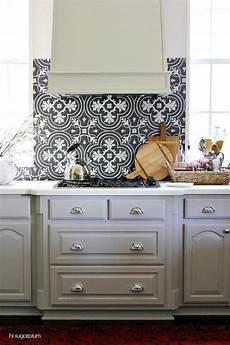 Backsplash For Black And White Kitchen Copper With Curved Gray Mosaic Tile Backsplash