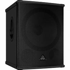 pa powered subwoofers behringer b1800hp eurolive 2200w 18 quot powered pa subwoofer