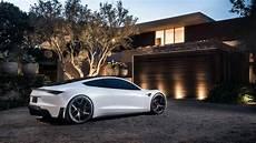 2020 tesla roadster battery news 2020 tesla roadster wears white after labor day for