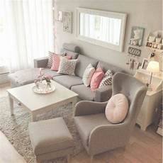 pretty pretty grey pink living room home sweet home
