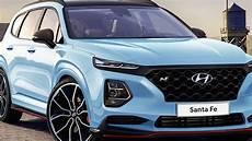 News 2019 Hyundai Santa Fe Already Imagined With N