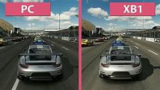 forza motorsport 7 pc vs xbox one graphics comparison