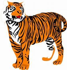 Standing Tiger Clip At Clker Vector Clip