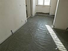 Terrazzo Herstellung 2 Untergrund Vorbereitung F 252 R
