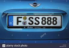 License Plate Germany Stockfotos License Plate Germany