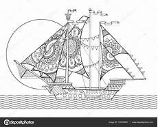 Malvorlagen Erwachsene Schiffe Yelkenli Gemi Boyama Gazetesujin