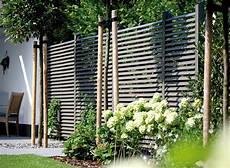 Sichtschutz Im Garten Holz Vom Fach