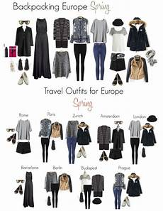 backpacking in europe this spring packing list and travel outfits travel outfits europe
