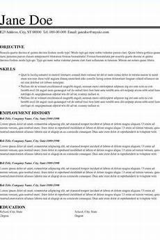 resume layout ideas career trend