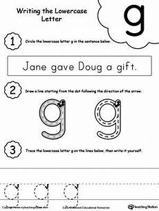 small letter g worksheets 24640 writing lowercase letter g lower letters lowercase a letter d worksheet