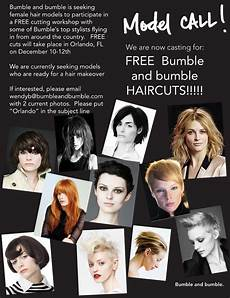 get a free bumble and bumble hair cut