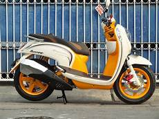 Jok Scoopy Modifikasi by Modifikasi Jok Motor Jok Honda Scoopy Model Pcx Retro