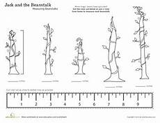 plants measurement worksheets 13586 and the beanstalk measuring with a ruler the beanstalk math measurement