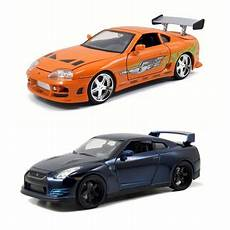 Fast And Furious Modellautos - brian dom fast furious diecast package set of two 1