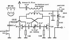 Fm Transmitter Circuit Diagram Schematic by Usb Fm Transmitter Circuit For Pc And Laptop Fm