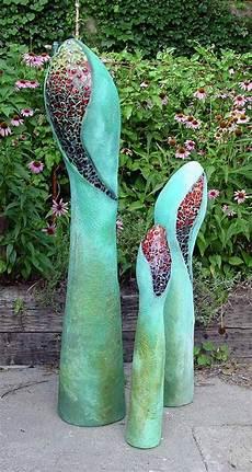 Gartenkunst Aus Beton - cement garden sculpture gartenskulptur mosaik beton