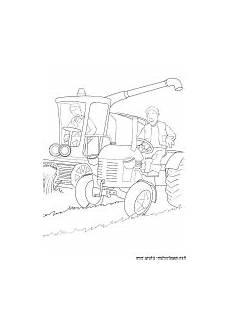 malvorlage kleiner roter traktor gratis coloring and