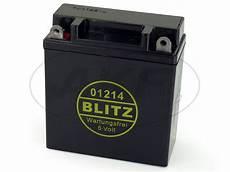 batterie 6v 12ah blitz vlies wartungsfrei simson s50